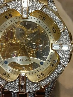 Elgin Gold/Crystal Watch for Sale in Puyallup,  WA