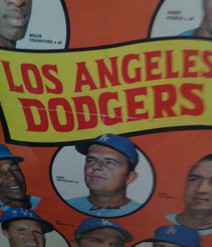 Los Angeles Dodgers 1969 Team Poster for Sale in Fortuna, CA