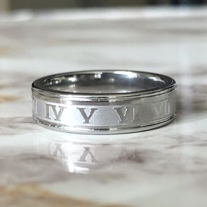Silver Roman Numerals Ring Size 8/9/10/11/12 for Sale in Fresno, CA