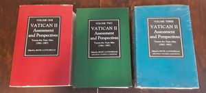 Vatican II assessment and perspective 25 years after, volumes 1, 2 and 3 books, all three for $39. for Sale in Chicago, IL