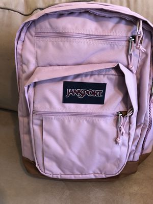 JanSport cool student 15 inch laptop backpack mauve mist for Sale in Hillsboro Beach, FL