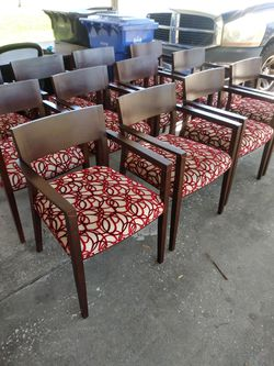 TWENTY MATCHING LOBBY CHAIRS for Sale in Tampa,  FL