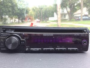 Kenwood car stereo for Sale in Sioux Falls, SD