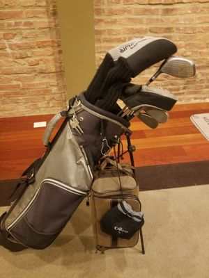 Full golf club set with caddy bag & shoe bag for Sale in Halethorpe, MD