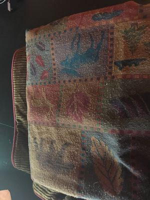 King duvet cover rustic cabin style! for Sale in Lakeside, AZ