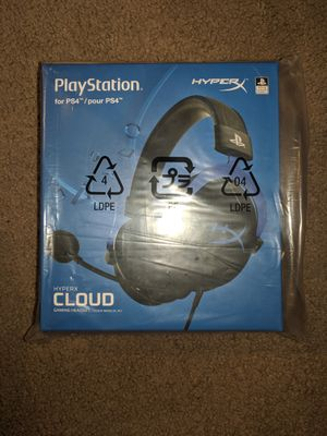 Hyperx cloud ps4 headset for Sale in North Highlands, CA