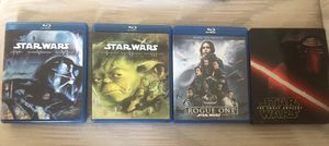 Star Wars Blu-Ray Collection, Episodes 1-7 + Rogue One for Sale in Jupiter, FL