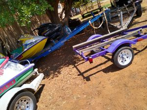 Jet ski and trailers need work selling or trade for Sale in Snyder, TX