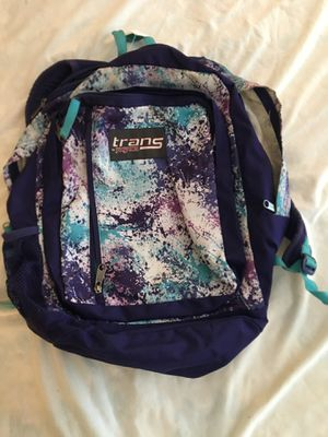 Trans by Jansport girls backpack for Sale in Burr Ridge, IL