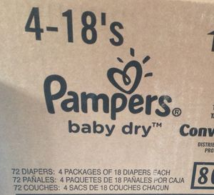 Pampers diapers size 6 for Sale in Tempe, AZ