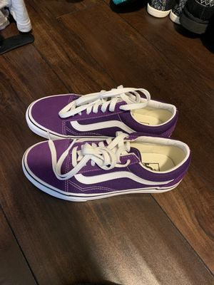 Brand new with box purple vans for Sale in Temecula, CA