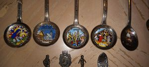 Antique spoon and silverware collection for Sale in Tampa, FL
