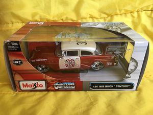 MAISTO RED FIRE DEPT 1955 BUICK CENTURY DIE CAST CAR ** See TONS of COOL STUFF here ... for Sale in Las Vegas, NV