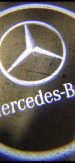 Mercedes Benz Car Door Lights Puddle Lights Auto On&off aaa Batteries for Sale in Paramount,  CA