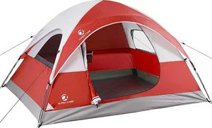 ALPHA CAMP 3 Person Camping Dome Tent with Carry Bag, Lightweight Waterproof Portable Backpacking Tent for Outdoor Camping/Hiking for Sale in Phoenix, AZ