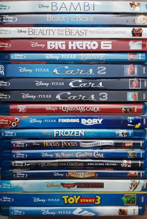 Disney/Pixar blu ray and dvd movies for Sale in Elk Grove, CA