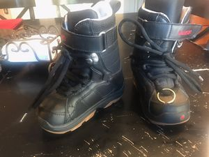 Kids Burton ski/snow boarding boots for Sale in Commerce City, CO