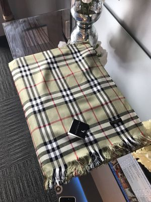 Burberry Check wool silk scarf for Sale in Silver Spring, MD