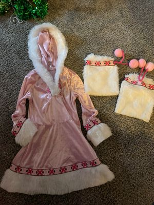 Size 4 Eskimo costume for Sale in Cuyahoga Falls, OH