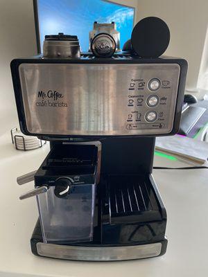 Mr Coffee Cafe Barista Cappuccino Latte Espresso maker for Sale in Seattle, WA