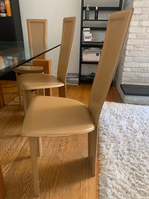 Leather Chairs (Set of 6 Chairs) for Sale in Philadelphia, PA