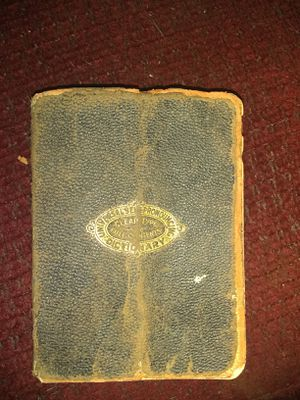 Dictionary 1922 for Sale in Milton, FL