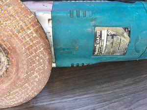 "Makita 7"" angle sander with diablo grinding wheel !! for Sale in Sun City, CA"