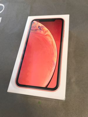 Apple iPhone XR coral unlocked brand new sealed for Sale in San Jose, CA