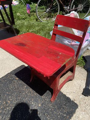 Red school desk for Sale in Saint Charles, MO