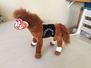 Ty Beanie Baby Secretariat 1A Horse Triple Crown Born March 30, 1970 for Sale for sale  Glendale, AZ