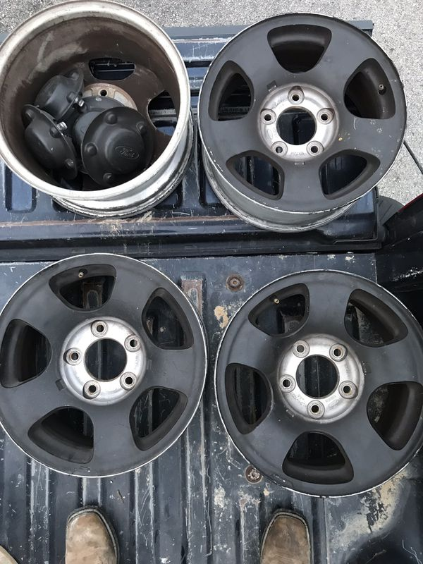 Ford F150 Factory Rims For Sale >> 2001 Ford F150 Factory Wheels Rims For Sale In San Antonio Tx Offerup