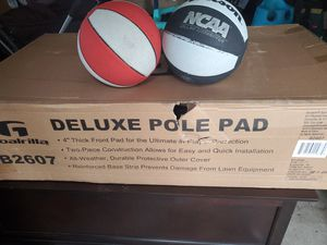 Deluxe pole pad for basketball hoop for Sale in Seattle, WA