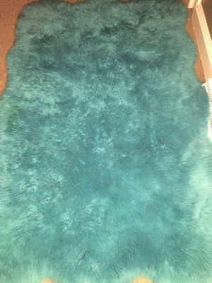 Fluffy blue clean carpet for Sale in High Point, NC