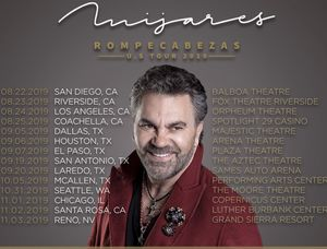 ////// MIJARES 2 HARD TICKETS 🎫 ROMPECABEZAS TOUR 2019 IN BALBOA THEATRE SD. Thursday, August/22/2019 8:30pm $50 Each OBO. for Sale in San Diego, CA