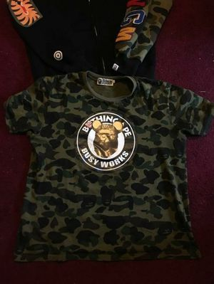 Bape tee and prps jeans for Sale in Detroit, MI