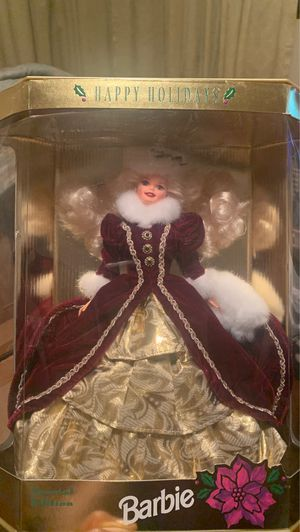 1996 Happy Holidays Barbie for Sale in Staten Island, NY