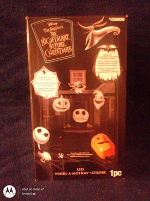 Nightmare before Christmas light projector for Sale in Denver, CO