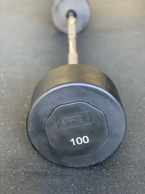 UMAX 100lbs Fixed EZ Curl Barbell for Sale in Elk Grove, CA