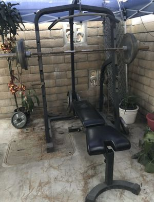 For Sale Fully Equipped Weight Rack for Sale in Garden Grove, CA