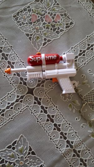 Supreme Water Gun Keychain 40 Firm. for Sale in Normal, IL