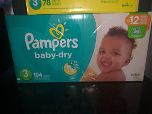 Pampers for Sale in Everett, MA