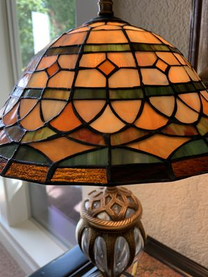 Vintage Stain glass lamp for Sale in Gresham, OR