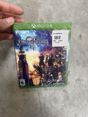Kingdom hearts 3 Xbox One for Sale in Round Rock, TX
