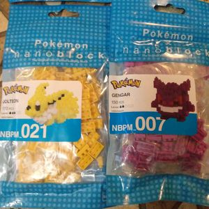 Brand New Pokemon Nanoblocks Sets All Unopened $8 Each for Sale in Orlando, FL