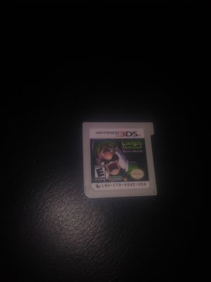 Luigis Mansion Dark Moon for Nintendo 3DS for Sale in Merced, CA