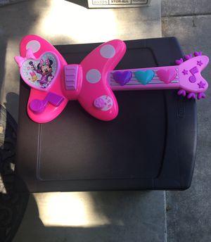 Minnie Mouse Guitar for Sale in Visalia, CA