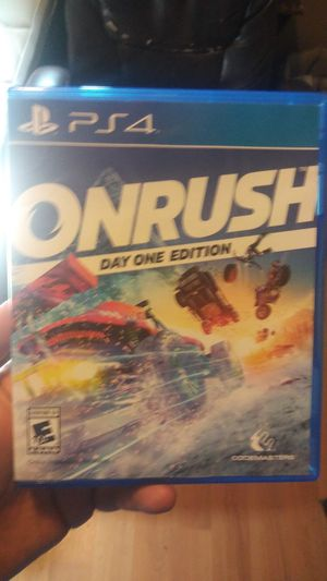 Onrush ps4 for Sale in Dallas, TX