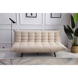 Beige Multi-Funtional Futon Sofa Bed for Sale in Monterey Park,  CA