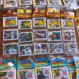 1987 Baseball Rack Packs (5) Packs for Sale in San Diego, CA