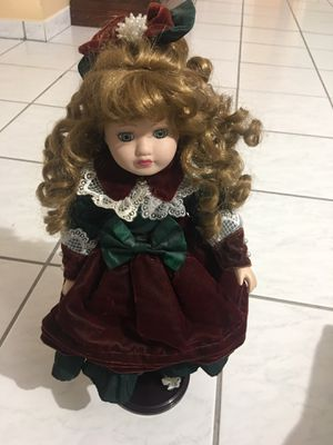Antique porcelain doll for Sale in Virginia Gardens, FL